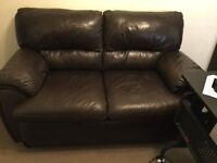 Leather Two Seater Sofa For Sale!