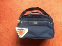 42cm Shoulder travel bag by Antler. Navy blue, brand new with tags.