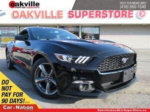 2017 Ford Mustang V6   6 SPEED M/T   B/U CAM   BLUETOOTH   LOW K