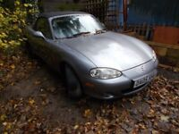Mx5 mx-5 mx 5. Mk2.5 Limited edition 'ICON'. 2005. 1600. This car is beautiful inside and out.......