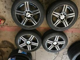 "15"" RIPSPEED ALLOY WHEELS ASTRA, CORSA, CLIO, MAGANE, CIVIC, FIESTA, FOCUS"