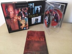 24 - Season 1 DVD Boxset