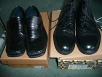 River Island boots Men's and Tom English shoes size 10