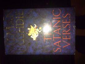 A First Edition Salman Rushdie The Satanic Verses Hardback Book 1988