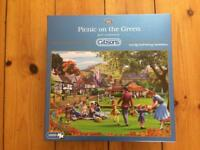 Gibson's picnic on the green 1000pc jigsaw
