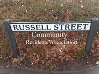Russell Street Community Residents Association MEETINGS