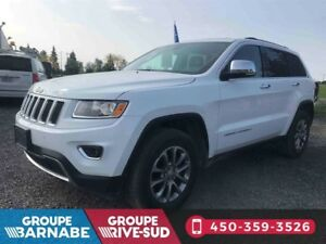 2016 Jeep Grand Cherokee LIMITED+CUIR+TOIT+MAGS+FULL ÉQUIP