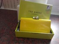 Ted Baker yellow purse