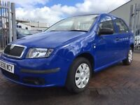 2006 06 SKODA FABIA 1.2 CHEAP BARGAIN CAR CHEAP INSURANCE AND TAX VERY TIDY AND RELIABLE NEW MOT !!!