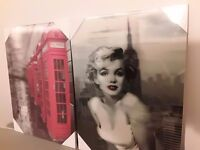 A variety of pictures all 3 D £1.50 each or 3 for £4, 21 in total £20 the lot