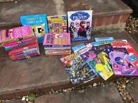 Job lot of girls book age 6+