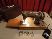 Singer 185K Electric Sewing Machine Heavy Duty - Sews Leather etc