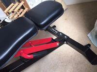 Adjustable BodyMax Weights Bench