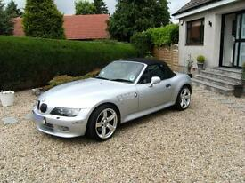 BMW Z3 3.0L, 2001(Y)stunning example with 65,500 miles + 12 months MOT
