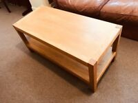 Laura Ashley Solid Oak Coffee Table - Brompton Range