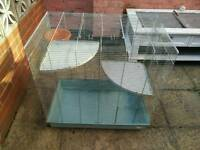 Rat, Chinchilla, Degu, small animal cage