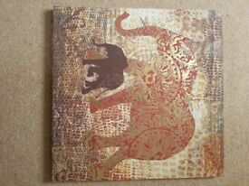 Elephant with gold impression from dunelm