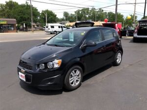 2016 Chevrolet Sonic LT- REAR VIEW CAMERA, HEATED FRONT SEATS