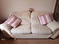 For Sale a 3 seater Sofa + 2seater Sofa + Footstool