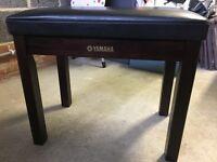 Original Genuine Yamaha Piano / Clavinova Bench - Rosewood
