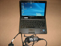 "Lenovo S205 12"" laptop for sale. 4GB memory, 320GB Hard disk, HDMI, Webcam, Wifi ready, Win7."