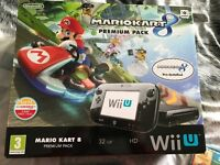 Wii u premium pack + more NEW