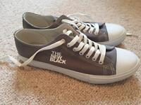 Canvas Trainers size 10