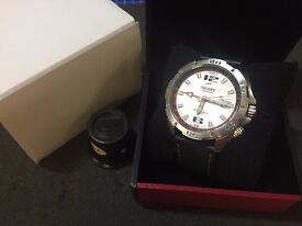 Rare Orient Dual Time GMT Automatic model CFE04001W