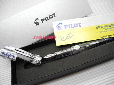 Tracking No. Pilot Fprn-350r Prera Fine Fountain Pen 6 Cartridges Blue