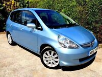 **LOW MILEAGE** 2008 HONDA JAZZ SE 1.4 PETROL 5 DOOR HATCH MANUAL GOOD SPEC