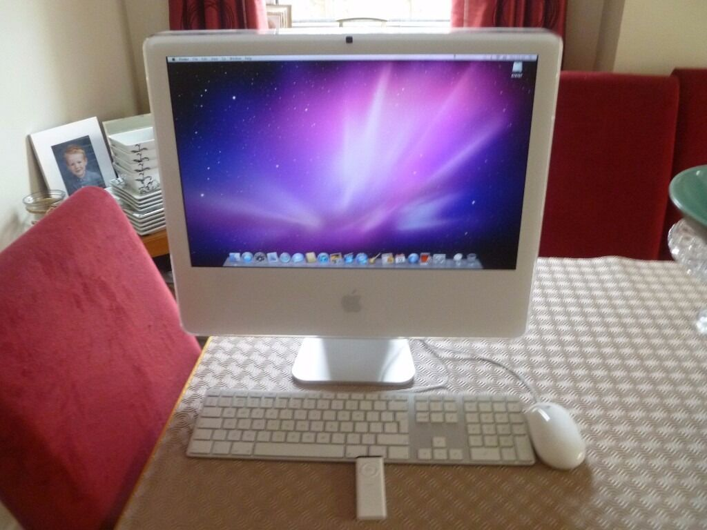 Imac 4.1in Chandlers Ford, HampshireGumtree - Imac 4.1 immaculate condition for age. 2 gb ram. 250 gb hard drive, Snow Leopard 10.6.8 operating system. Keyboard, mouse,remote