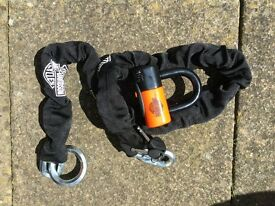 Harley Davidson Noose chain and Shackle Lock Kit