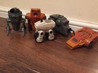 Vintage Kenner Star Wars Mini-Rigs bundle.