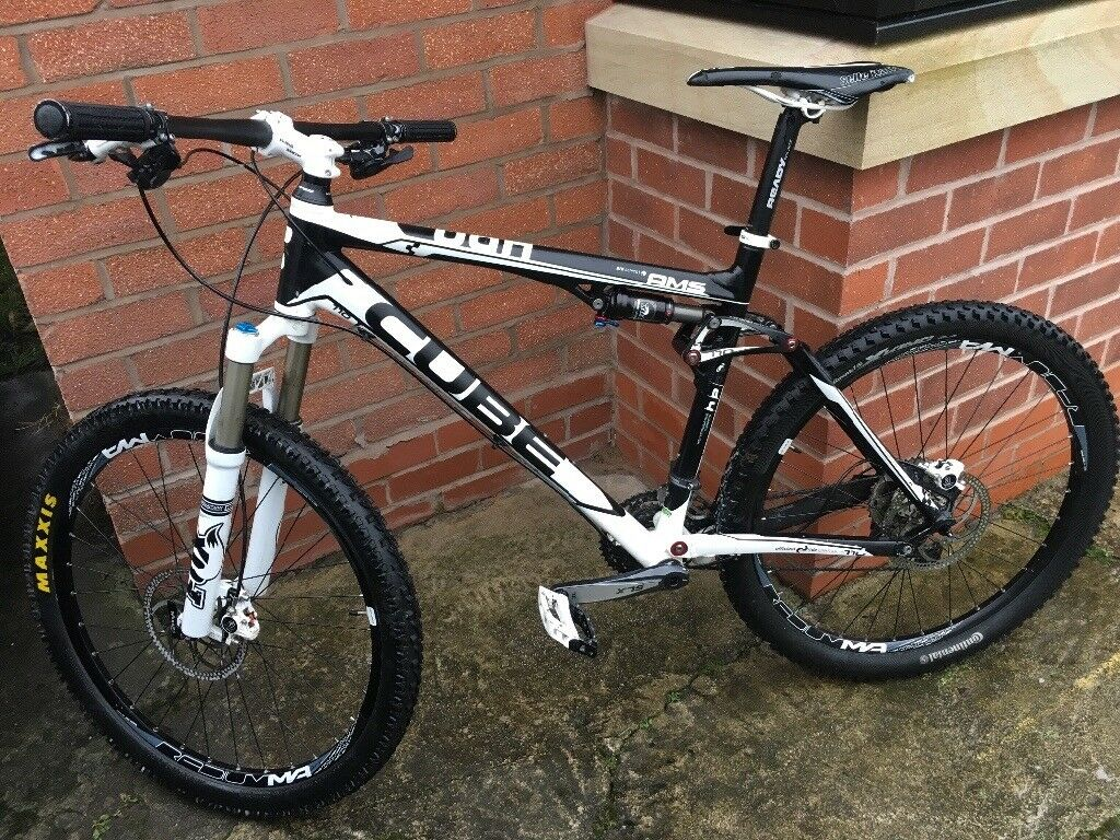 Cube AMS 110 dual suspension mountain bike (100