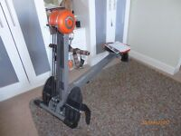 exercise bike and rowing machine both with instructions, little used.