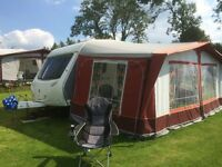 Caravan Full Awning for sale used on our Sterling Europa 520
