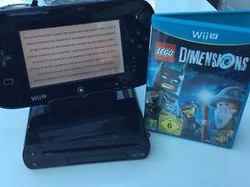 Nintendo Wii U Console – 32GB – bundle with Lego Dimensions