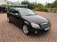 "2008 Mercedes C200 CDI 2.1 Diesel - FSH - 18"" Amg Sport Alloys - Hpi Clear - Low Miles - C220"