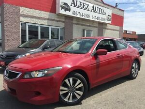 2008 Honda Accord EX-L, Navigation, Heated, Leather, Sunroof