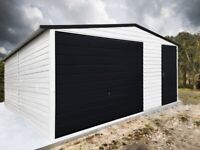 METAL GARAGE garage 17ftx20ft 5mx6m. (We can do an individual project)Different colors