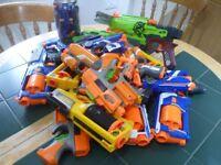 NERF GUNS ENOUGH TO START A WAR