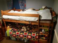 Pine bunkbed for sale