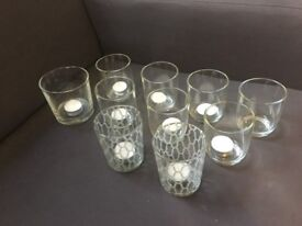 Candle Holders - Glass (11)