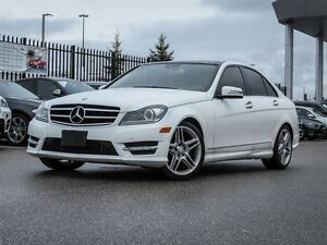 2014 Mercedes-Benz C-Class 4MATIC One Owner Trade -In
