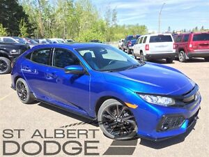 2017 Honda Civic SPORT | 6SPD MANUAL | TWO-TONE LEATHER