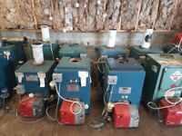 Oil burner and boiler