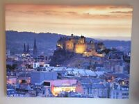 Stunning canvas of Edinburgh Castle