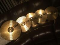 Paiste PST 3 set of cymbals
