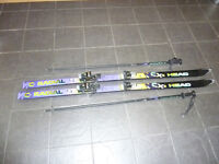 Head Skis and Poles