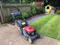 HONDA HRX 426 4 Stroke Self Propelled Petrol Lawn Mower With Rear Stripe Roller - recent service